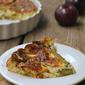 Crustless Asparagus Quiche + Weekly Menu