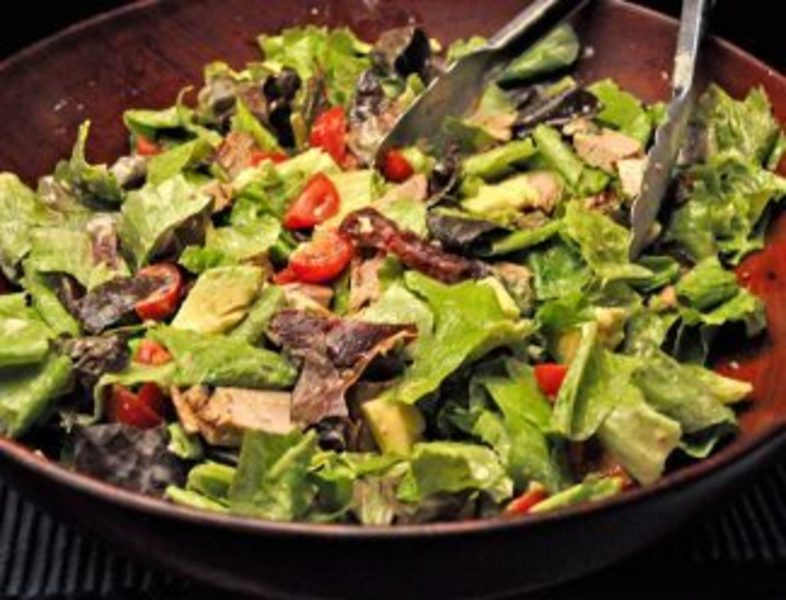 Grilled Pork & Avocado Salad
