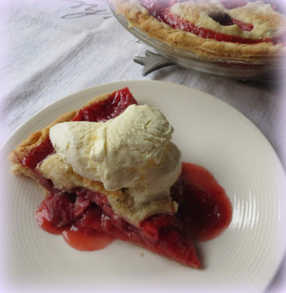 Grandmother's Strawberry Pie