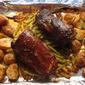 Sheet Pan Chinese Pork Tenderloin for Two