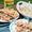 Grilled Garlic & Herb Shrimp over Barley Salad
