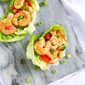 Cashew Shrimp Lettuce Wraps Recipe