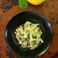 Casarecce, Lemon, and Arugula. Fresh, Fast, The Easiest Summer Pasta Ever.