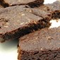Egg Free Brownies Made With Linseeds
