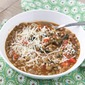 Italian Tomato and Lentil Soup with Spinach