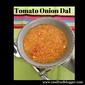 Tomato Dal - Americanized