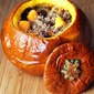 Quinoa Stuffed Pumpkin with Venison, Cherries & Squash