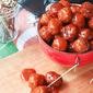 Game Day Crock Pot Meatballs