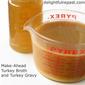 Make-Ahead Turkey Gravy and Broth