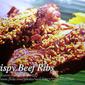Crispy Beef Ribs