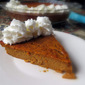 Impossible Pumpkin Pie (from scratch)