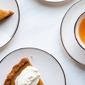 Cassava Pumpkin Pie with Graham Cracker Crust