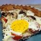 Deep Dish Breakfast Pizza To Serve Four