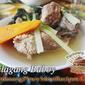 Nilagang Baboy (Boiled Pork Ribs)