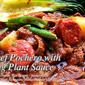 Beef Pochero with Egg Plant Sauce