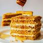 Russian Honey Cake Medovik