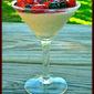 A Perfect Spring Dessert: No-Stress Lemon Panna Cotta with Honey-Balsamic Berries #lemon #berries #dessert #nobake #springflavor #pannacotta