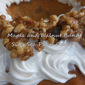 Maple and Walnut Bundt Cake