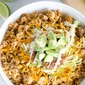 One Pot Taco Rice Dinner