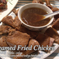 Steamed Fried Chicken (Pinsangawang Pritong Manok)