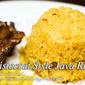 Java Rice Aristocrat Style