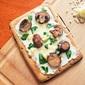 Garlic Ricotta Cheese Flatbread