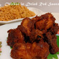 Chicken in Dried Red Sauce