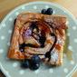 Blueberry & Lemon Sheet Pan Pancake