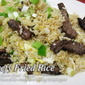 Beefy Fried Rice
