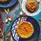 No Bake Mango Kalakand Tart – Indian Fusion Dessert