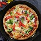 Quick No Yeast Garlic Pizza, or just 'simple quick no- planning required' pizza.