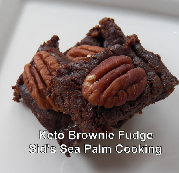 Keto Brownie Fudge