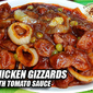 Chicken Gizzards with Tomato Sauce