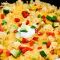 One Pan Amazing Chicken Fajita Rice Skillet Dinner