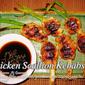 Chicken Scallion Kebabs
