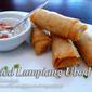 Fried Lumpiang Ubod