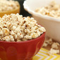 Sugar and Spice Popcorn with Cinnamon, Nutmeg, and Ginger