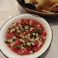 Zucchini Pico de Gallo Salsa or Salad