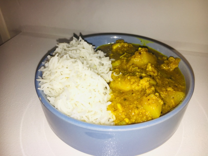 Goan pork and potato curry