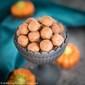 Keto Pumpkin Spice Cookie Dough Balls