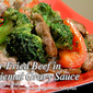 Stir Fried Beef in Oriental Gravy Sauce