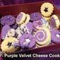 Purple Velvet Cheese Cookies