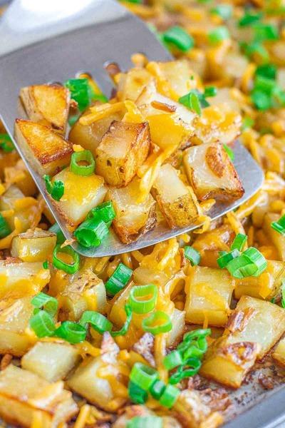 Cheddar Cheese Onion Potatoes