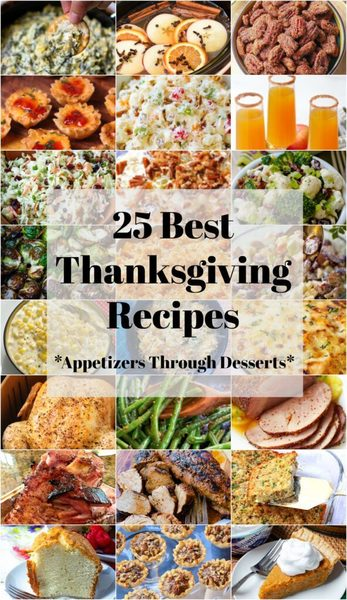 25 Best Thanksgiving Recipes