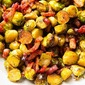 Crispy Brussels Sprouts with Honey and Bacon