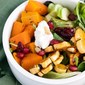 Roasted Squash And Goat Cheese Salad
