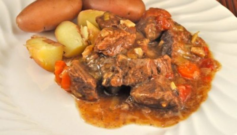 Braised Beef in White Wine; a good day