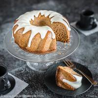 Fluffy 5-Ingredient Keto Pumpkin Cake