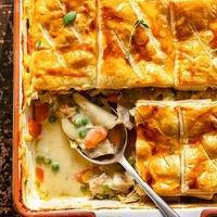 Turkey Marsala Pot Pie