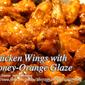 Chicken Wings with Honey-Orange Glaze